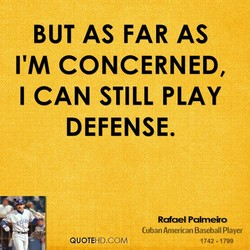 BUT AS FAR AS 