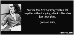 Anytime four New Yorkers get into a cab 