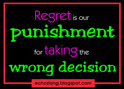 Regret 