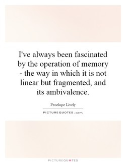 I've always been fascinated 