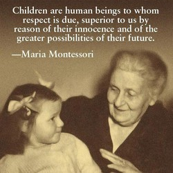 Children are human beings to whom 