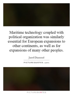 Maritime technology coupled with 