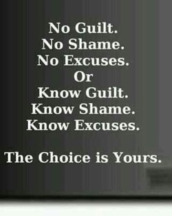 No Guilt. 