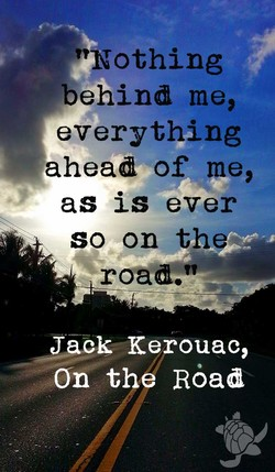 behind me, 