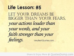 Life Lesson: #5 
