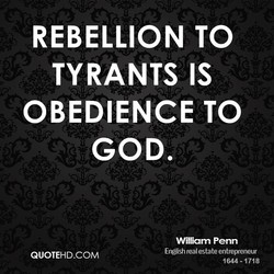 REBELLION TO 