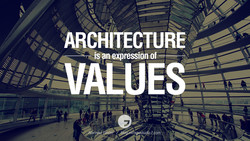 ARCHITECTURE is an expression of • AIALUES