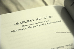 SECRET NO. 27 