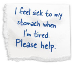 I sick to my 