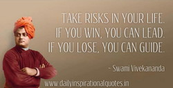 RISKS IN YOUR LIFE 