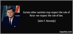 Certain other societies may respect the rule of 
