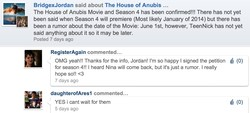BridgexJordan said about The House of Anubis . 