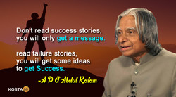 Don't read success stories, 