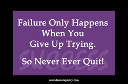 Failure Only Happens 