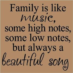 Family is like 