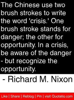 The Chinese use two 