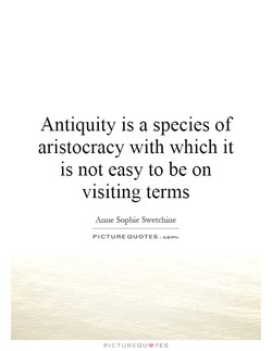 Antiquity is a species of 