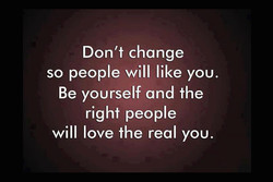 Don't change 