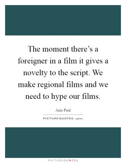 The moment there's a 