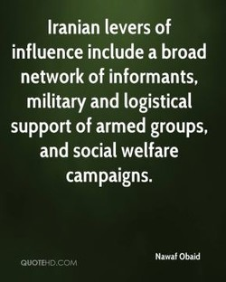 Iranian levers of 