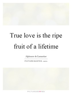 True love is the ripe 