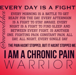 EVERY DAY IS A FIGHT 
