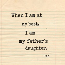 When I am at 