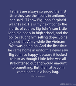 Fathers are always so proud the first 