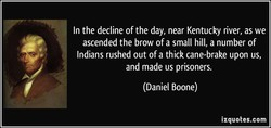 In the decline of the day, near Kentucky river, as we 