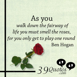 As you 