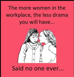 The more women in the 