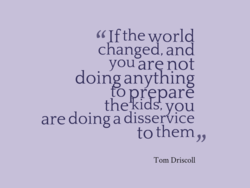 If the world 
