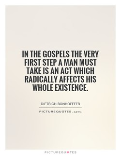 IN THE GOSPELS THE VERY 