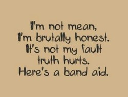 I'm no} mean, 