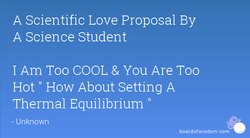 A Scientific Love Proposal By 