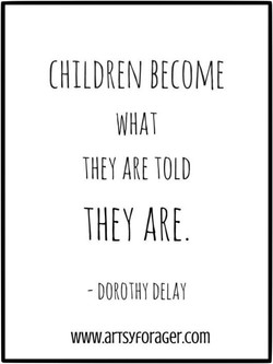 CHILDREN BECOME 