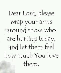 Dear Lord, please 