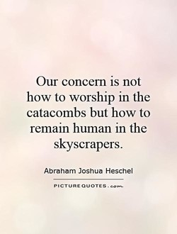 Our concern is not 
