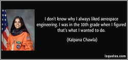 I don't know why I always liked aerospace 
