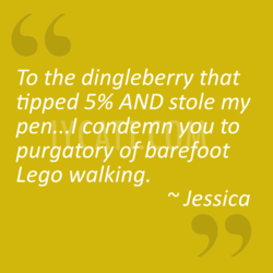 To the dingleberry that 