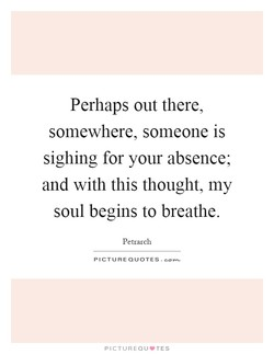 Perhaps out there, 