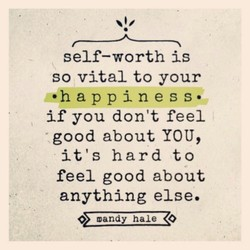 self—worth is 