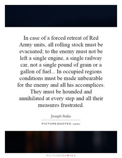 In case of a forced retreat of Red 