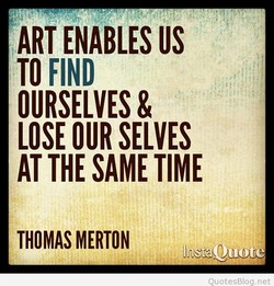 ART ENABLES US 
