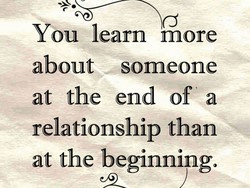 You learn more 