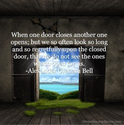 When one door closes another one 