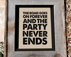THE ROAD GOES 