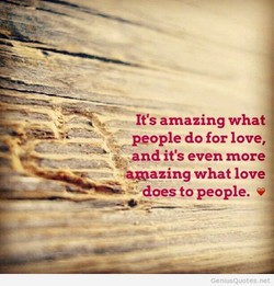 It's amazing what 