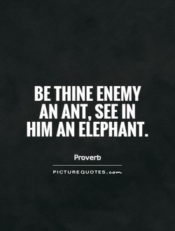 BE ENEMY 