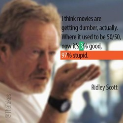 think movies are 